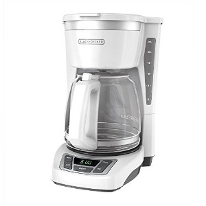 BLACK+DECKER CM1160W 12 Cup Programmable Coffee Maker, Digital Control Programmable Coffee Maker,...