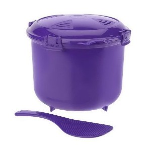 Purple Sistema 2.75 Quart Microwave Multicooker [並行輸入品]
