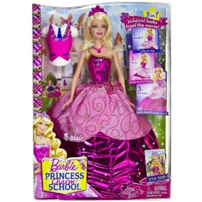 "Blair: Barbie バービー Princess Charm School ~12"" Doll Figure 人形 ドール"