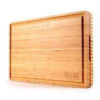 The BestリバーシブルChopping & Serving Board on the market 。Strongと頑丈なon one side for cutting and...