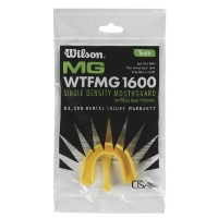 Wilson Youth SD Bulk Mouth Guard Strap (Yellow) by Wilson