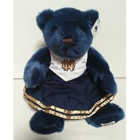 Notre Dame Fighting Irish Plush Navy Bear withチアリーディングドレス