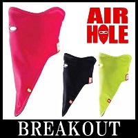 AIRHOLE WOMENS STANDARD 1 COLOR フェイスマスク スノーボード COLOR-PINK