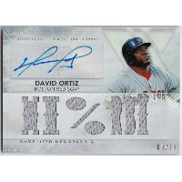 デビッド・オルティーズ 2015 Topps Triple Threads Relics Auto 09/18 David Ortiz