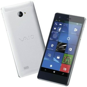 【送料無料】 VAIO VAIO Phone Biz シルバー 「VPB0511S」 Windows Phone 10 Mobile・5.5型・メモリ/ストレージ:3GB/16GB...