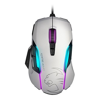 ROCCAT Kone AIMO-RGBA Smart Customization Gaming Mouse,white,AS Packaging(正規保証品) ROC-11-815-WE-AS
