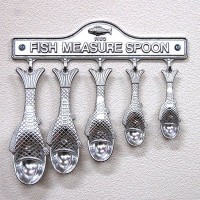 ダルトン Aluminum fish measuring spoon set
