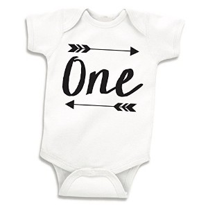 Boy Birthday Shirt, Baby Boy First Birthday Bodysuit (6-12 Months) by Bump and Beyond Designs