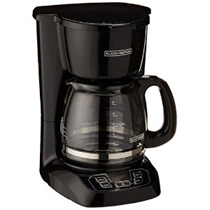 Black & Decker コーヒーメーカー BCM1410B 12-Cup Programmable Coffeemaker with Glass Carafe 【並行輸入品】
