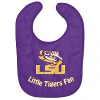 NCAAカレッジFull Color Mesh Baby Bibs ( LSU Tigers All Pro )