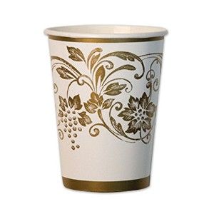 Traditional Gold Cups Party Accessory (1 count) (10/Pkg) [並行輸入品]