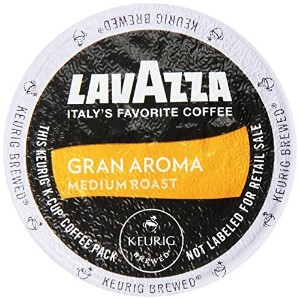 Lavazza K-Cup Portion Pack for Keurig Brewers, Gran Aroma, 22 Count [並行輸入品]