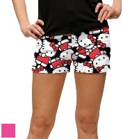 LoudMouth Ladies Hello Kitty Celebration Mini Shorts【ゴルフ レディース>パンツ】