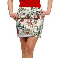LoudMouth Ladies North Pole CC Skort【ゴルフ レディース>スコート】