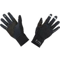 ゴア メンズ 自転車 グローブ【Gore Bike Wear Universal Gore Windstopper Glove】Black
