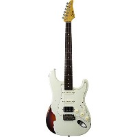 Suhr Guitars 2017 Limited Edition Classic Antique Pro Olympic White over 3TB Indian Rosewood FB w...