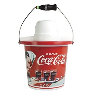 Nostalgia ICMP400COKE Coca-Cola Limited Edition 4-Quart Ice Cream Maker [並行輸入品]