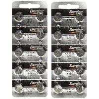 Energizer A76 LR44 1.5V Watch / Electronic Button Cell Battery (20 Pack) by Energizer [並行輸入品]