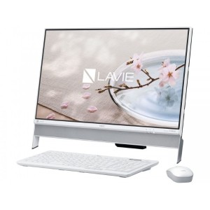 LAVIE Desk All-in-one DA370/GAW PC-DA370GAW [ファインホワイト]