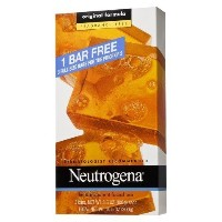 (ニュートロジーナ 固形せっけん) Neutrogena Facial Bar Soap made with Glycerin 3 Pack (9 Bars). Comes with Bath..