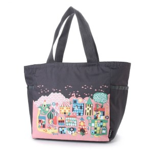 【SALE 29%OFF】レスポートサック LeSportsac PICTURE TOTE (LITTLE TOWN) レディース