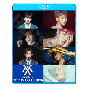 【Blu-ray】☆★MONSTA X 2017 TV COLLECTION★Beautiful Fighter Stuck All In Ex Girl【モンスターエクス】