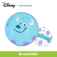 THE FACE SHOP - [   Disney Collection   ] CC Long Lasting Cushion ロングラスティングクッションSulley 韓国コスメ