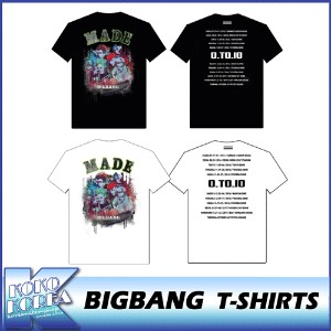 10th BIGBANG/T-SH/BIGBANG THE  CONCERT 0.TO.10 FINAL IN SEOUL MD/公式グッズ/YG/ビッグバン/Tシャツ