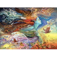 (Buffalo Games) Buffalo Games Josephine Wall: Spirit of Flight - 1000 Piece Jigsaw Puzzle by Buff...