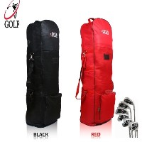 [Golf] Golf Wheel Air Cover/ Travel Golfbag/ Halfbag airport tour carrier case black and Red color...