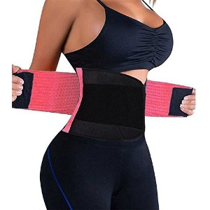 Slimming Waist Shaper Body Support Belt Waist Trainer Trimmer Belt with Dual Adjustable Belly For Wo