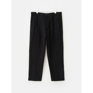 8SECONDS Cotton Basic Wide Pants - Black