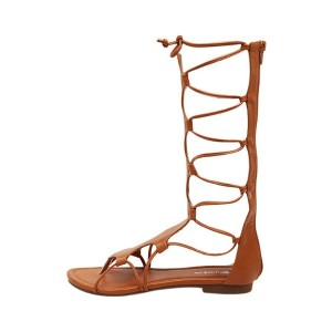 Thong Unique Elegant Lace Up Gladiator Flat Sandals