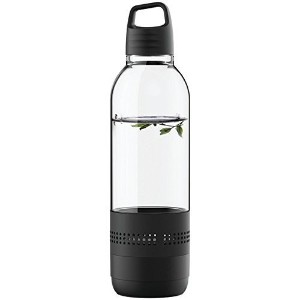 Sylvania SP650-BLACK 2 In 1 Water Bottle Bluetooth Speaker