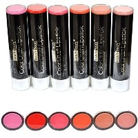 Beauty Treats Color Crush Lipstick Set Of 6 Color Full Size - 6 pcs