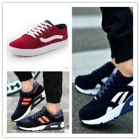 Spring Korean version of the trend of mens casual shoes breathable air shoes sport shoes men shoes...