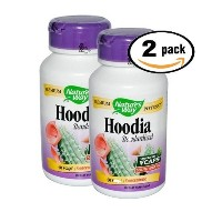 Pack of 2 60 Vcaps Natures Way Hoodia Gordonii Dietary Supplement