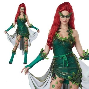 Sexy costumes Poison ivy (Size: One Size)