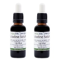 (Heiltropfen) 5% Lugol s Iodine Solution  Twin Pack (Two bot.)  2x 1Oz.  Pharmaceutical grade  Ma...