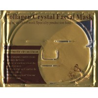 (Crystal) Luxurious 24k Nano Gold Collagen Crystal Facial Mask 5 Packs