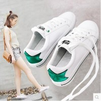 2017 new white shoes actress star wild students single shoes lace shoes casual shoes canvas shoes