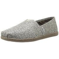 BOBS from Skechers Womens Blill-Mars Flat Taupe 7 M US