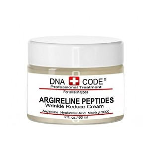 DNA Code-No Needle Alternative-Pure Argireline Peptides Winkle Reduce Cream-Hyaluronic Acid+...