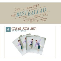 JYJ 2016 XIA THE BEST BALLAD SPRING TOUR コンサート 公式グッズ クリアファイルセット