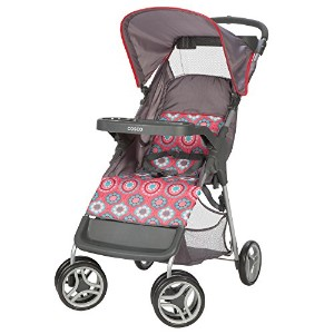 Cosco Lift and Stroll Convenience Stroller, Posey Pop by Cosco