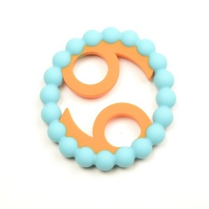 Chewbeads Baby Zodies Teether - Cancer (Jun. 21 - Jul. 22) - Turquoise by Chewbeads