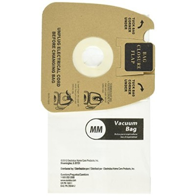 (20 Bags) - Genuine Eureka MM Vacuum Bag 60297A Style -(2 packs of 10 = 20 Bags)