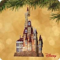 Castle in the Forest Beauty and the Beast disney 2002年ホールマーク記念品オーナメント