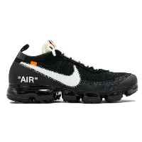 NIKE x VIRGIL ABLOH OFF-WHITE THE 10 NIKE AIR VAPORMAX FK メンズ Black/White/Clear ナイキ オフホワイト 限定商品...