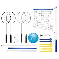 High Quality Recreational Badminton and Volleyball Combo Set